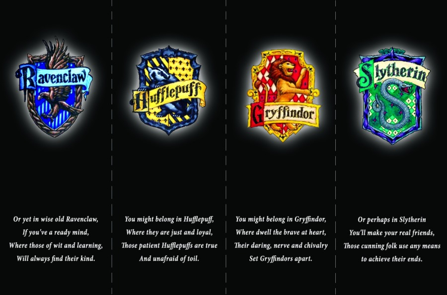 Advent Challenge Day 1- The Hogwarts Houses and Stereotypes (Part2)
